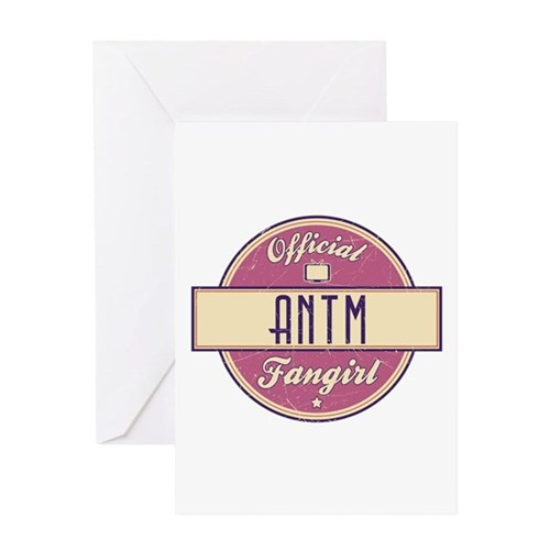 Official ANTM Fangirl Greeting Card