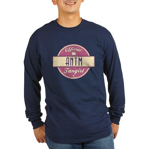 Official ANTM Fangirl Long Sleeve Dark T-Shirt