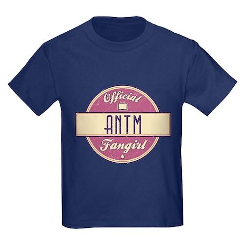 Official ANTM Fangirl Kids Dark T-Shirt
