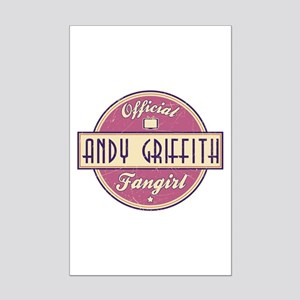 Official Andy Griffith Fangirl Mini Poster Print
