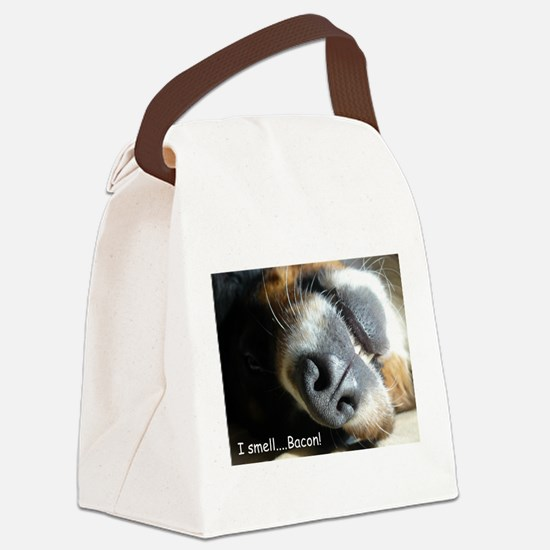 Meas nose knows! Canvas Lunch Bag