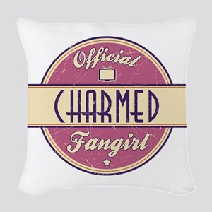 Official Charmed Fangirl Woven Throw Pillow