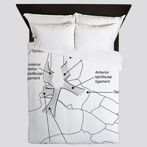 dr Ankle large Queen Duvet
