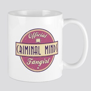 Official Criminal Minds Fangirl Mug