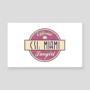 Official CSI: Miami Fangirl Rectangle Car Magnet