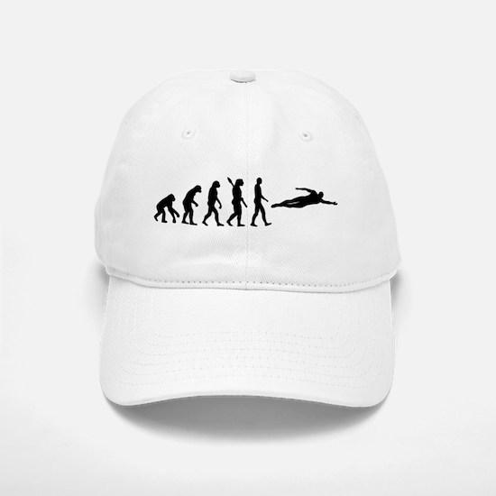 Swimming evolution Baseball Baseball Cap