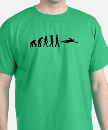 Swimming evolution T-Shirt