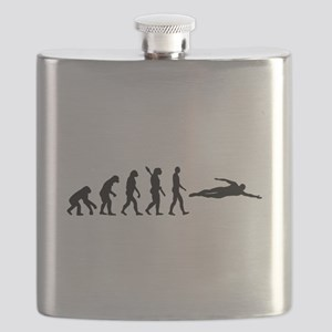 Swimming evolution Flask