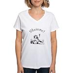 Irish Toast Wine Women's V-Neck T-Shirt