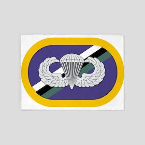 160th SOAR Airborne 5'x7'Area Rug
