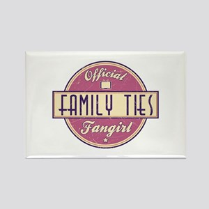 Official Family Ties Fangirl Rectangle Magnet