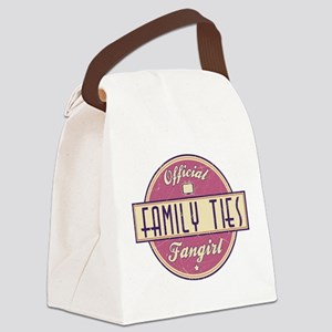 Official Family Ties Fangirl Canvas Lunch Bag