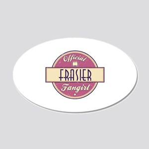 Official Frasier Fangirl 22x14 Oval Wall Peel