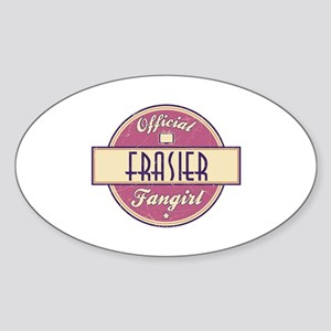 Official Frasier Fangirl Oval Sticker