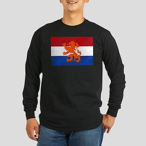 Holland Lion Long Sleeve Dark T-Shirt