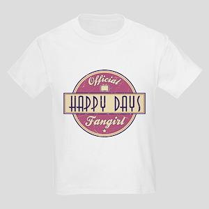 Official Happy Days Fangirl Kids Light T-Shirt