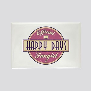 Official Happy Days Fangirl Rectangle Magnet