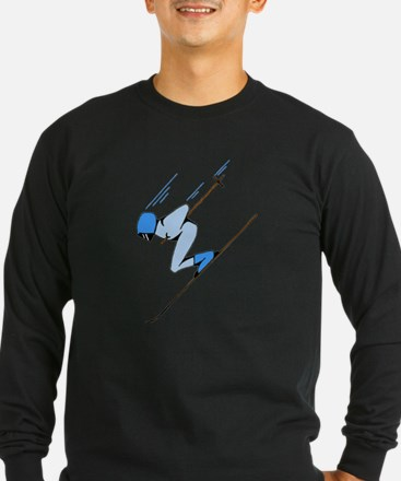 Ski Racer Long Sleeve T-Shirt