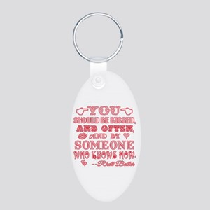 Gone With the Wind Aluminum Oval Keychain