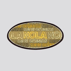 NOLA Gold Bronze Design Patch