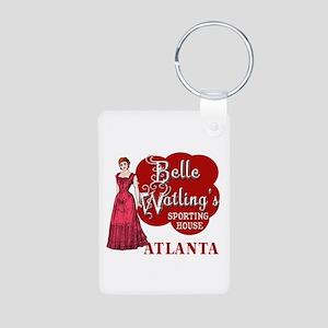 Belle Watling's with Fancy Lady Aluminum Photo Key