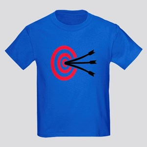 Archery target Kids Dark T-Shirt