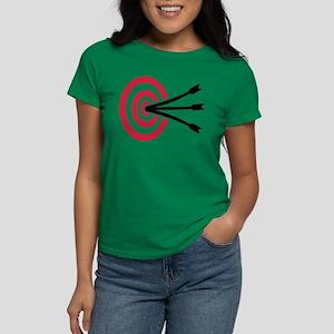 Archery target Women's Dark T-Shirt