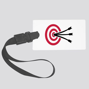 Archery target Large Luggage Tag