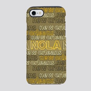 NOLA Gold Bronze Design iPhone 7 Tough Case