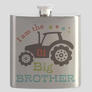 Big Brother Farmer Tractor Flask