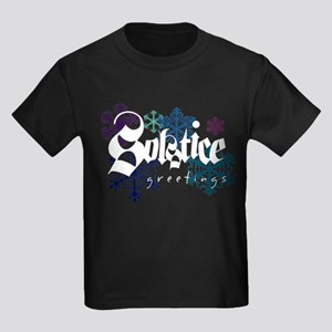 Solstice Greetings Kids Dark T-Shirt