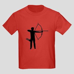 Archery archer Kids Dark T-Shirt