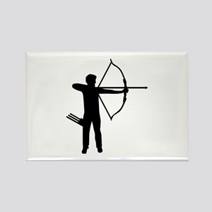 Archery archer Rectangle Magnet