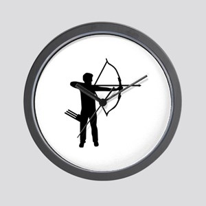 Archery archer Wall Clock