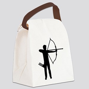 Archery archer Canvas Lunch Bag