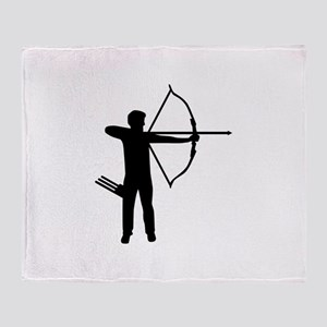 Archery archer Throw Blanket
