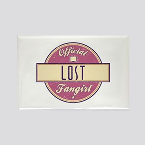 Official LOST Fangirl Rectangle Magnet