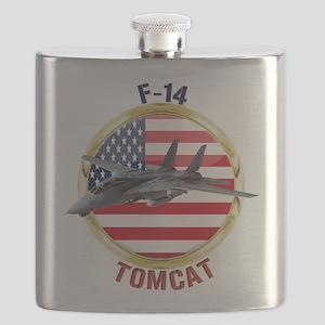 F-14 Tomcat Flask
