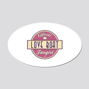 Official Love Boat Fangirl 22x14 Oval Wall Peel