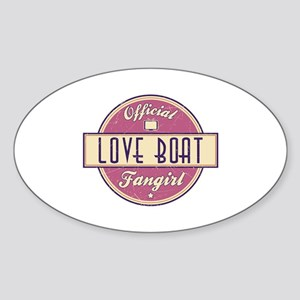 Official Love Boat Fangirl Oval Sticker
