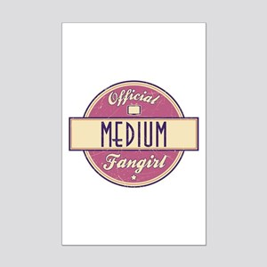 Official Medium Fangirl Mini Poster Print