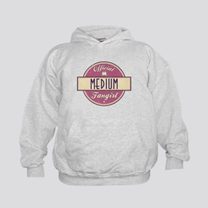 Official Medium Fangirl Kid's Hoodie