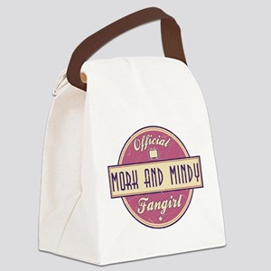 Official Mork and Mindy Fangirl Canvas Lunch Bag