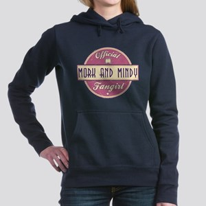 Official Mork and Mindy Fangirl Woman's Hooded Swe