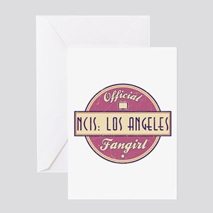 Official NCIS: Los Angeles Fangirl Greeting Card