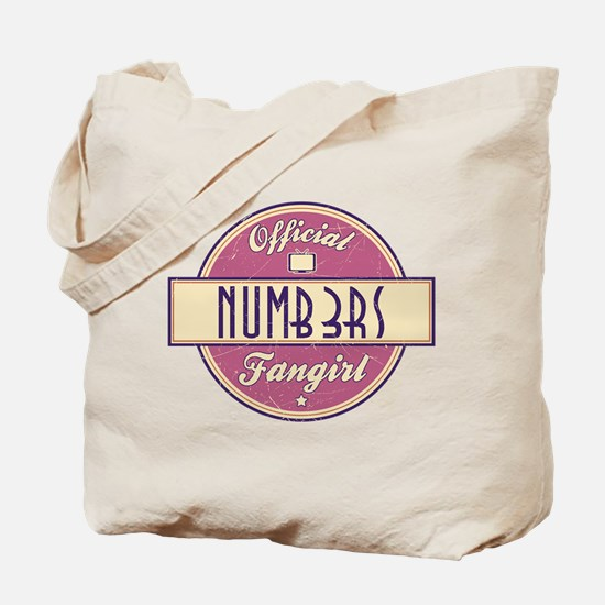 Official Numb3rs Fangirl Tote Bag
