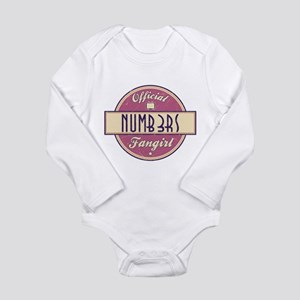 Official Numb3rs Fangirl Long Sleeve Infant Bodysu