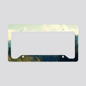 Wilderness is a Necessity License Plate Holder