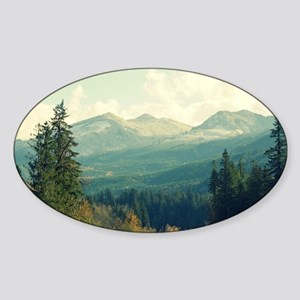 Wilderness is a Necessity Sticker (Oval)