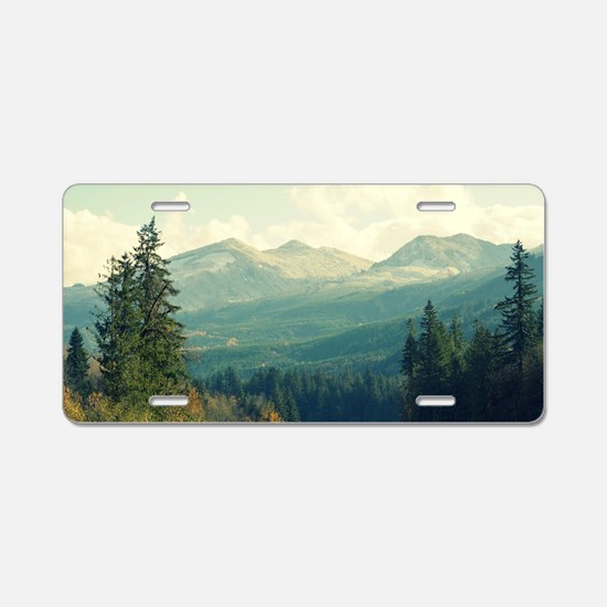 Wilderness is a Necessity Aluminum License Plate
